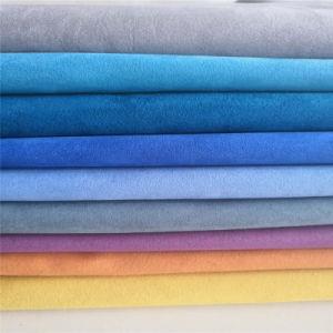 Désossées imitation cuir velours tissé de polyester Tissu canapé
