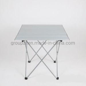 Portátil Mesa De Camping Enrollar Plegable Cuadrado Aluminio hQxrtdsC