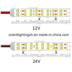 Riga indicatore luminoso del Ce dell'UL doppia di striscia di SMD1210 (3528) LED