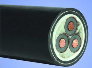 O fio de aço de cabos subterrâneos/Tipo de cabo de alimentação cobre blindado