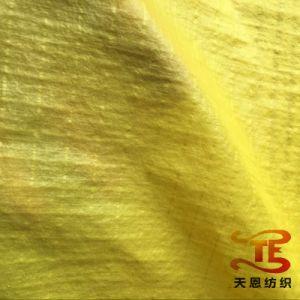 China Tecido 100% tecido Taffeta elástica de nylon com óleo Cire para casacos de malha e vestuário