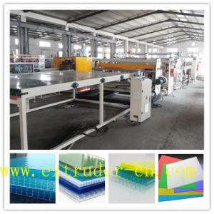 Flexible de liaison PC de l'extrudeuse/PP/PE Feuille creux/ Ligne de feuille de plastique en bois d'Extrusion