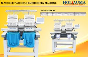 H1502高速帽子によってコンピュータ化される刺繍機械日本
