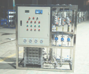 Electronics와 Pharmaceutical Use를 위한 EDI Ultra Pure Water Making Machine