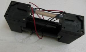 Micro- van de Vacuümpomp 24V/12V 500kpa gelijkstroom van de Lucht van gelijkstroom de MiniPomp van de Zuiger Dubbele Hoofd-90kpa/-97kpa/-80kpa