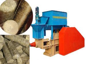 Manette de sciure de bois Briquette Appuyez sur la machine (SKJ-B)