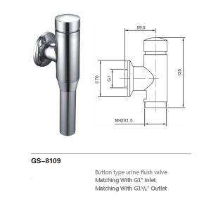 Selbstschließend Toiletten-Straßenreiniger (8109)