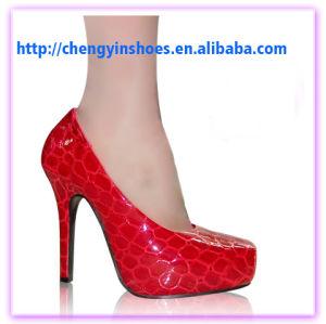 Hot Sale 2015 quartier branché de haute qualité des chaussures de femmes sexy haut talon
