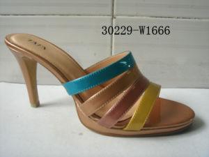 Mesdames PU sandales (30229-W1666)