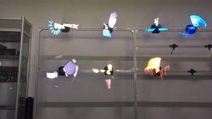 3D schermo del ventilatore LED per fare pubblicità