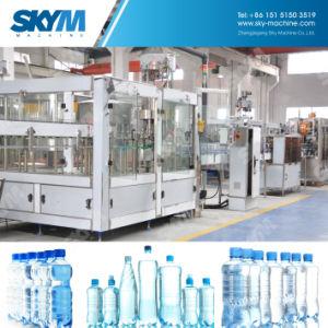 24fillingヘッドMonoblockの飲み物の天然水のびん詰めにする機械プラント