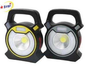 5W de potencia de 2400 lumens Camping linterna LED de mazorca de la luz de trabajo portátil con USB de la luz de trabajo