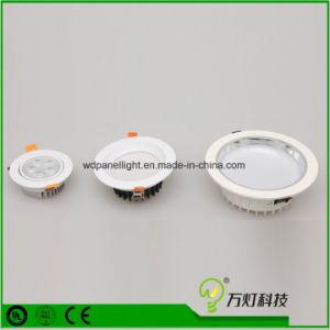 Panel LED 3W 6W 9W 12W 15W 18W luz Iluminación Downlight empotrable de techo
