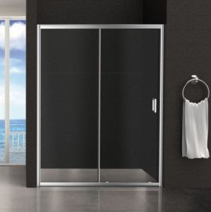 Регулируемый Quick-Installation закаленного стекла корпус душ// двери стекла/кабина