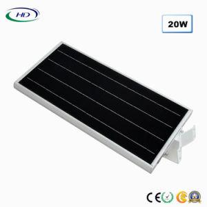 2018経済的なタイプ20W統合されたLEDの太陽庭ライト