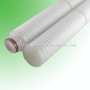 DOE Patroon van de Filter van 0.4 Microns Millipore Geplooide voor Farmaceutische Industrie