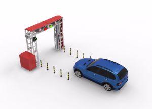 Грузов и транспортных средств X Ray малых автомобилей осмотр машины