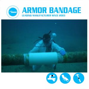 L'eau prix d'usine activé Réparation des canalisations de bandes Fibre Fix bandage