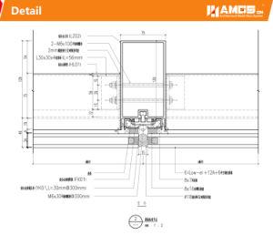 Het bouw BuitenSysteem van de Gordijngevel van het Aluminium van het Frame van het Glas van de Voorzijde Weerspiegelende Onzichtbare