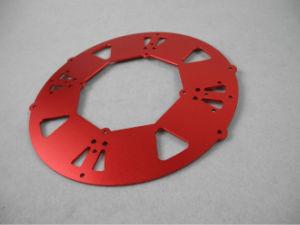 CNC die de Delen die van het Aluminium machinaal bewerken de Delen van de Motorfiets anodiseren