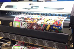 stampante della tessile di 1.8m Wj-740 Digitahi con la testa di Epson Dx7