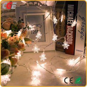 Decorazione di festa degli indicatori luminosi leggiadramente di natale dell'indicatore luminoso della stringa del LED