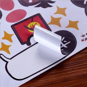 Custom напечатано транспортировочные наклейки печатаются за круглым столом