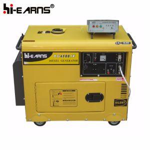 5 квт дизельный генератор с САР (DG7500SE+ATS)