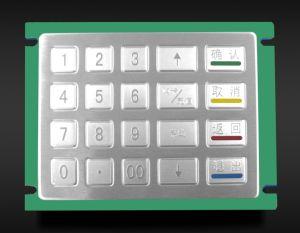 IP65 Ik07 het Waterdichte Mini Numerieke Toetsenbord van het Metaal