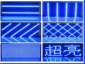 単一の青い屋外P10 LED表示スクリーン