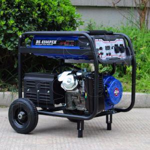 Generator des Bison Wechselstrom-einphasig-Luft abgekühlter beweglicher Benzin-5kw