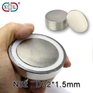 Kundenspezifischer Segment gesinterter seltene Massen-permanenter Neodym NdFeB Magnet N52