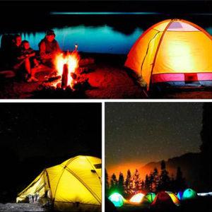2018新製品のキャンプのための極度の明るいファンランプライト