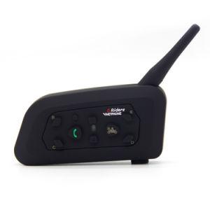Citofono senza fili di Bluetooth del casco del motociclo per 6 il Interphone dei cavalieri 1200m GPS