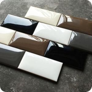 2017 kijkt Nieuw Product 75X150mm Brood Tegel van de Muur van de Metro van Backsplash van de Keuken en van de Badkamers de Ceramische Verglaasde Decoratieve (GM751500P)