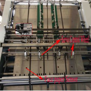 Automatische Flöte-Laminiermaschine-Maschine Qtm-1450