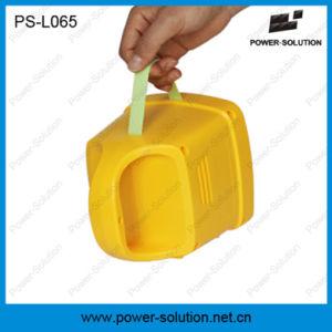 Nigh portátil alimentado con panel solar de la luz de la iluminación solar con MP3