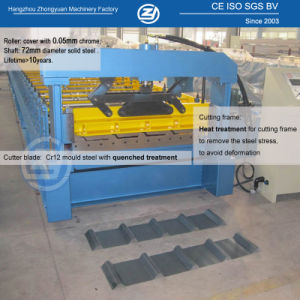Nouveau design en aluminium de toiture en métal galvanisé de tôle en acier ondulé Making Machine machine à profiler de couleur du panneau de paroi froide prix d'usine