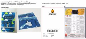 Sinicline 2018 Hang Tag cadena con el pasador de seguridad Etiquetas trajes de baño