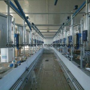 Os de poissons de traire les vaches Salon 40 Système de mesure automatique