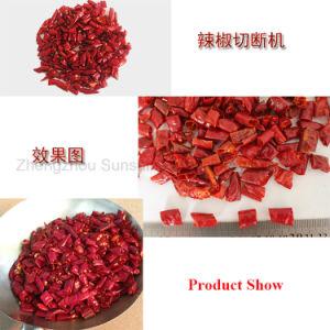 Poivron rouge piment sec Traitement Slicer Machine de découpe de poivre de coupe
