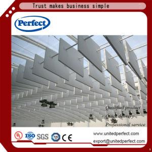 Matériaux de décoration Commerial suspendu la fibre de verre Panneau acoustique