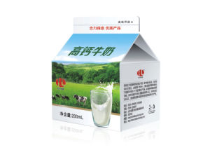 200 ml de Gable Top Box de la leche