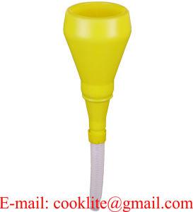 530mmの適用範囲が広い管が付いている1パイントのプラスチック経済の実用的な漏斗
