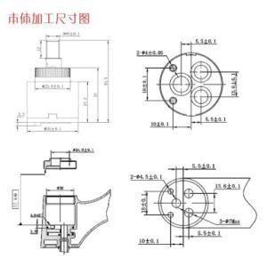 35mmディストリビューター(YLD35-10)のない陶磁器弁のカートリッジ