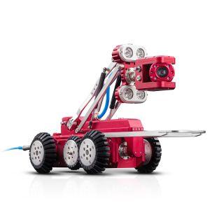 CCTVの下水道のパイプラインの点検ロボット
