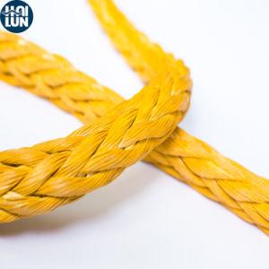 Doppie memoria della treccia UHMWPE e corda ad alta resistenza dell'ancoraggio del fodero del poliestere