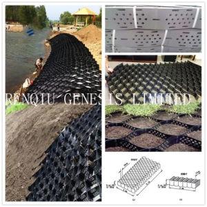 De Stabilisator Geonet van het grint met Sterkte Met grote trekspanning