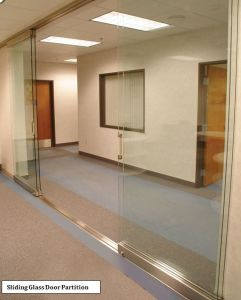 Portelli scorrevoli di vetro