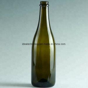 Color verde 750 ml vaso de champán botellas de vino